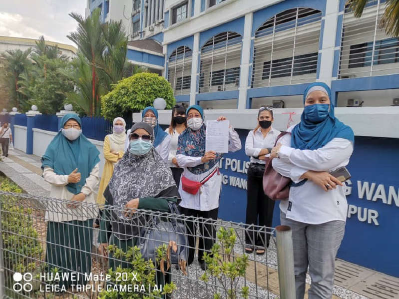Pejuang wing lodges police report