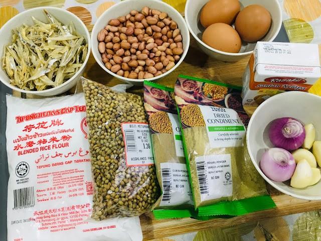 Resepi Rempeyek Kacang Tanah