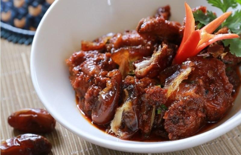 Resepi ayam masak ros kurma