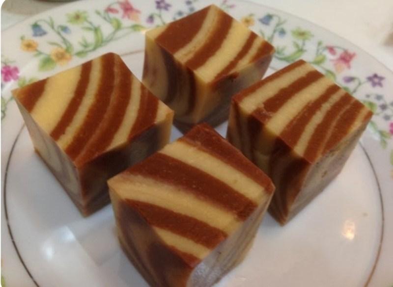 Resepi puding batik sedap sangat