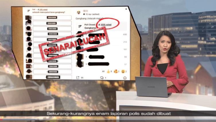 Tinjauan lucah online babit asatizah [Ustazah] Singapura - 6 laporan polis dibuat