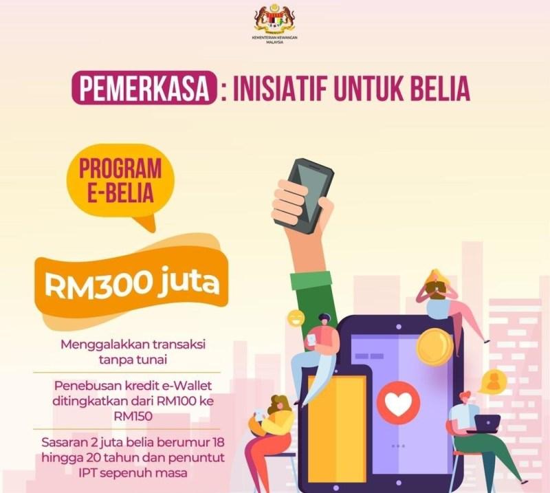 eBelia bernilai RM300 juta untuk pelajar IPT