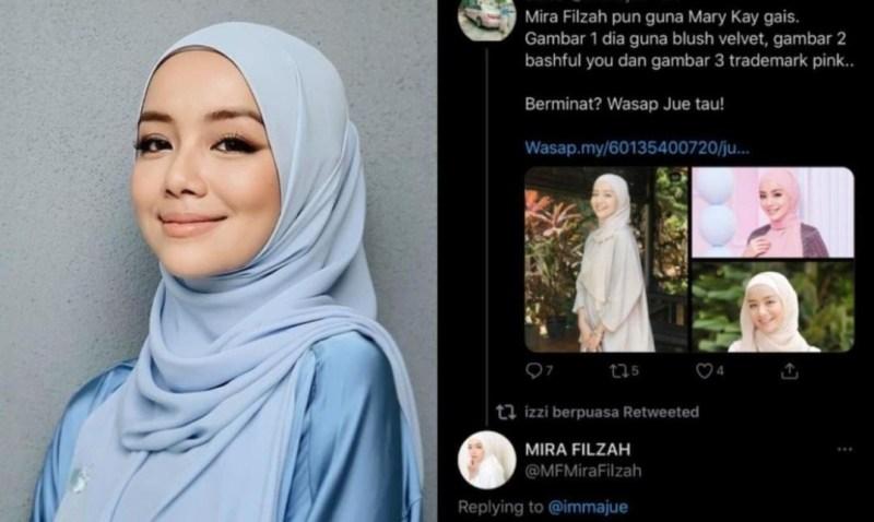 Perunding Kecantikan Ini 'Kantoi' Guna Nama Mira Filzah