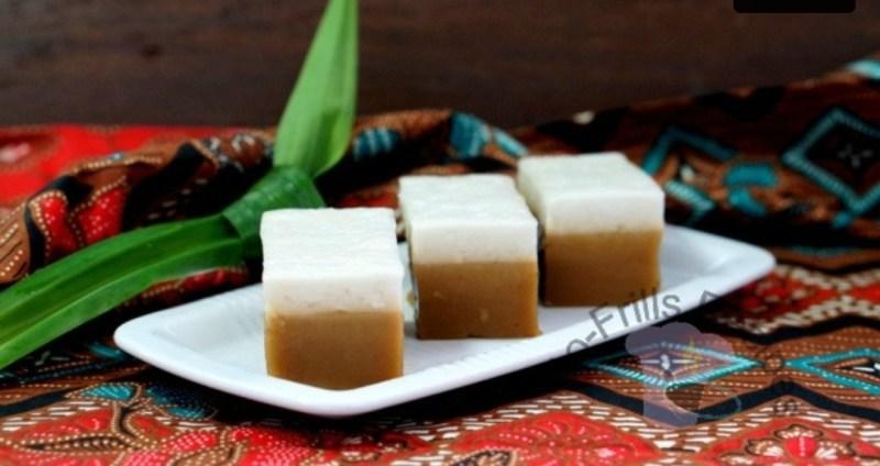 Resepi Tepung Talam Gula Merah (Manis dan berlemak)