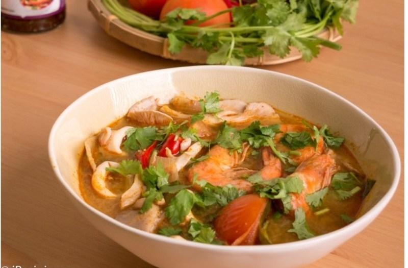 Resepi Tom Yam Thai Campur