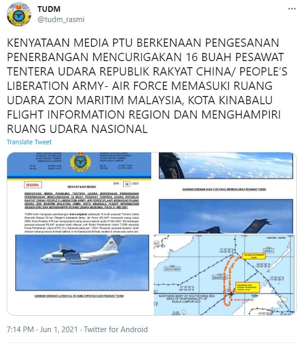 Keupayaan Unit Bersenjata Udara Malaysia Di Tangga Ke-60 Dunia, 'Tewas' Dengan Negara Miskin