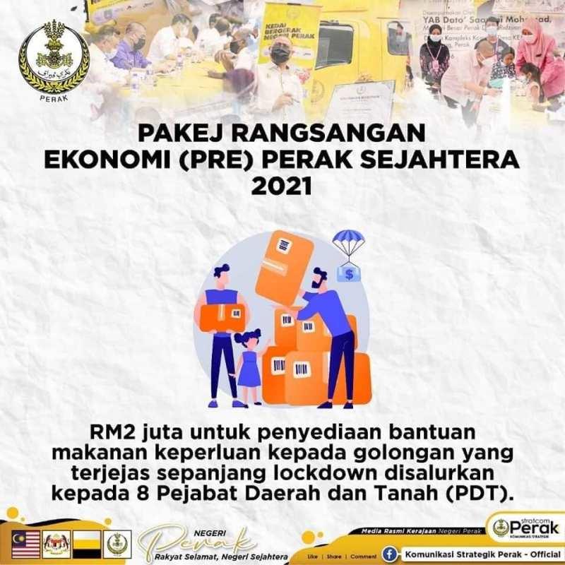 MB Perak Dato Saarani Mohamad turun padang