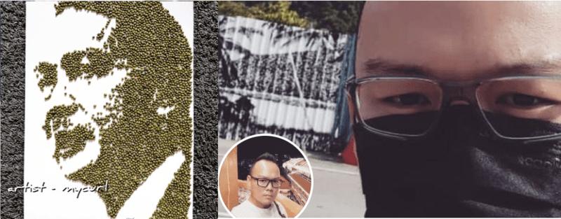 Unik Dan Cantik! Guna 4K Biji Kacang Hijau Hasilkan Potret KP Kesihatan