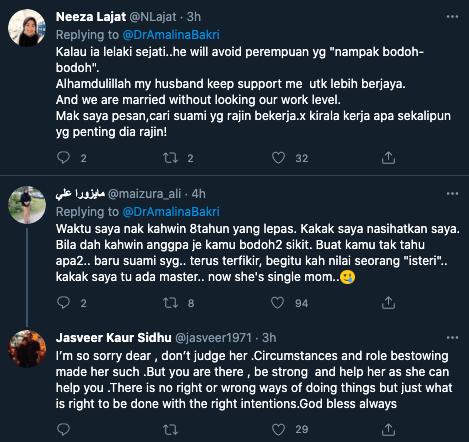 Ramai Netizen Tak Setuju Termasuk Dr. Amalina Terhadap Pendapat Prof Muhaya..Kena 'Nampak Tak Bijak' Untuk Pikat Lelaki?