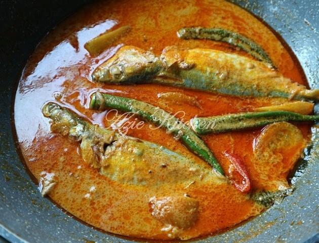 Resepi gulai ikan temenung sedap baq hang