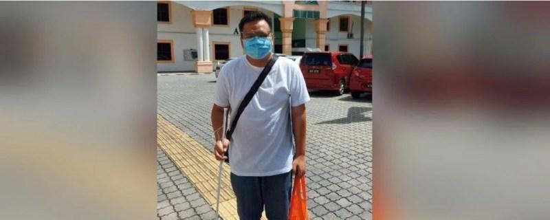 Lelaki tiba-tiba hilang penglihatan, rayu diambil bekerja demi
