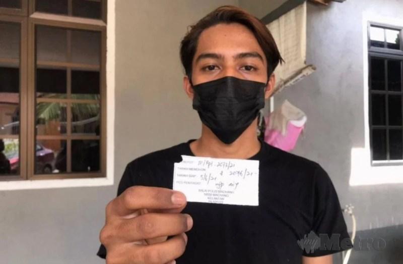 Pemuda trauma ditumbuk polis, wang dirampas