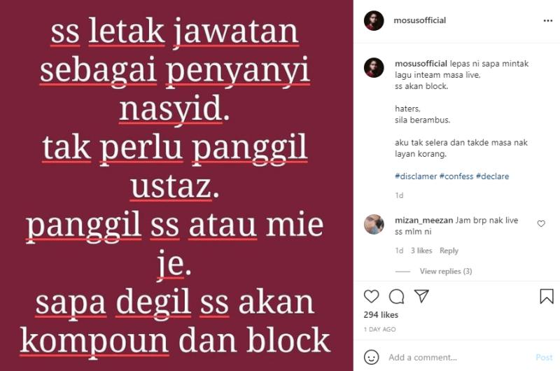 Tak Mahu Digelar Ustaz! Suhaimi Saad Letak Jawatan Sebagai Penyanyi Nasyid Tapi...