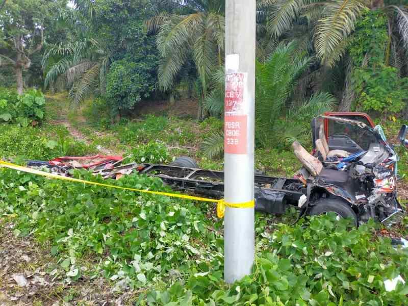 Pemandu towing maut selepas sejam kemalangan
