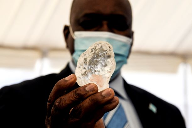 Berlian ketiga terbesar dunia ditemukan di Botswana