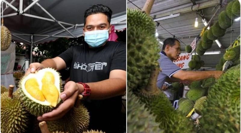 P. Pinang durian berlambakan, Lembah Klang durian harga Yahudi