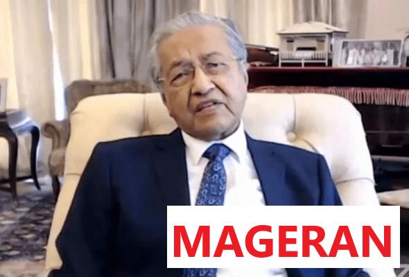 'Saya Nak Cuba Berkhidmat, Bukan Nak Jadi Pembesar Negara' - Mahathir