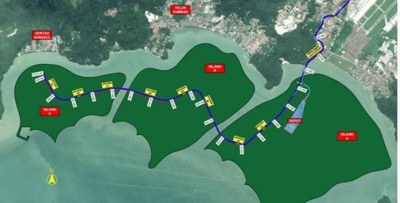 Pulau Pinang digesa batalkan projek tambak laut