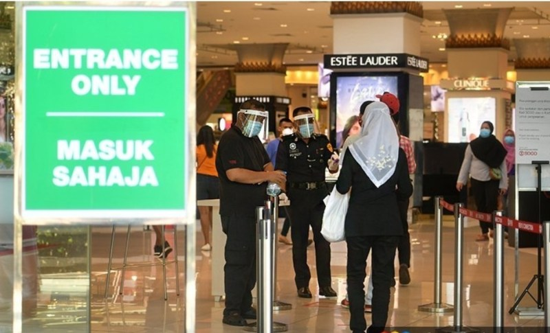 Had masa 2 jam di pusat beli-belah ditarik serta-merta, kata menteri