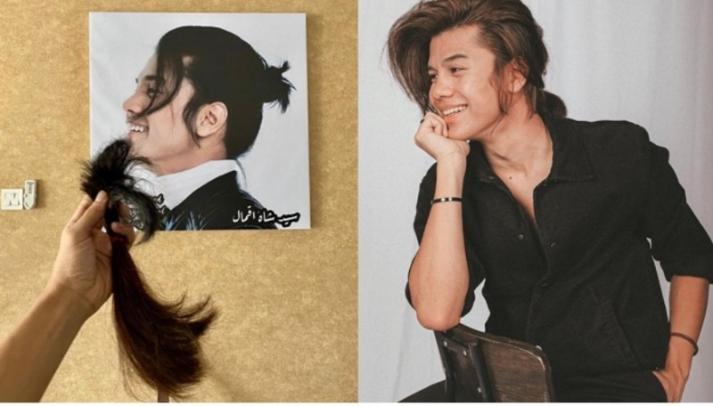 Syed potong rambut pun, netizen teruja