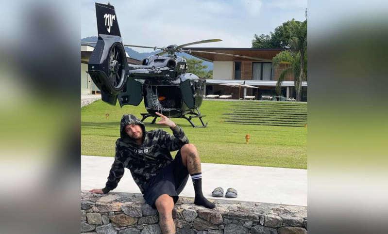 Neymar tayang helikopter RM58 juta
