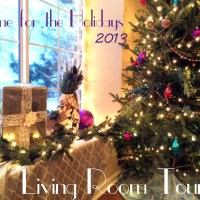 Home for the Holidays 2013: Living Room Tour