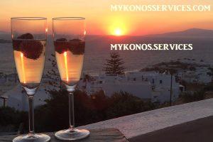 D Angelo villa sea view - rent villa mykonos services 12
