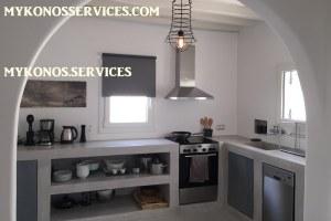 D Angelo villa sea view - rent villa mykonos services 1777