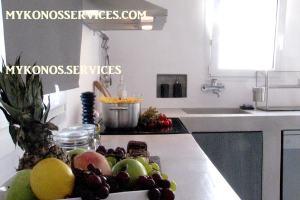 D Angelo villa sea view - rent villa mykonos services 1999