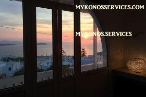 D Angelo villa sea view - rent villa mykonos services 199999