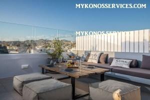 Villa D Angelo Sunset Penthouse by the wind mills - mykonos services - rent villa mykonos 18