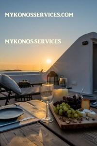 Villa D Angelo Sunset Penthouse by the wind mills - mykonos services - rent villa mykonos 193939399