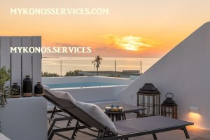 Villa D Angelo Sunset Penthouse by the wind mills - mykonos services - rent villa mykonos 200
