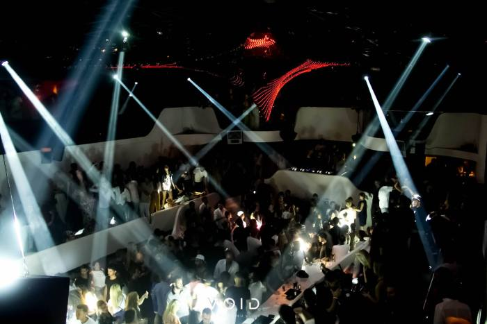 Mykonos night club