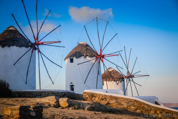 10 Reasons to go to Mykonos - Photography - Windmills