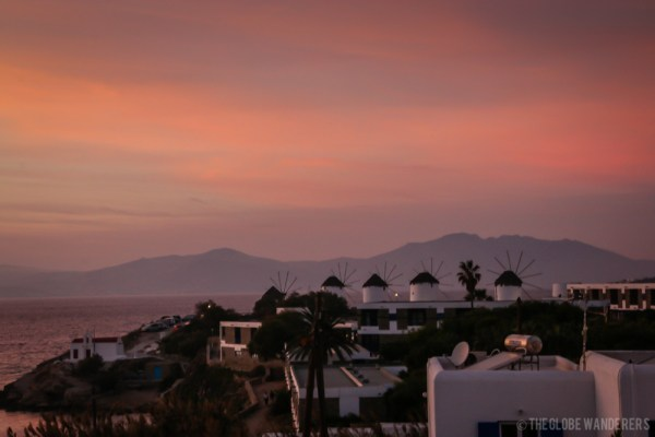 10 Reasons to go to Mykonos - the sunsets