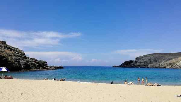 Fokos beach Mykonos island, Greece - Mykonos Traveller