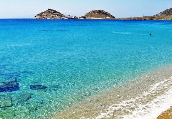 Kalafatis beach Mykonos island, Greece - Mykonos Traveller
