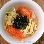 Janchi Guksu 잔치 국수 (Korean Warm Noodles aka Feast Noodles)