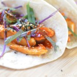 Korean Spicy Chicken Tacos