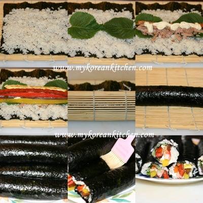 How to Make Tuna Kimbap