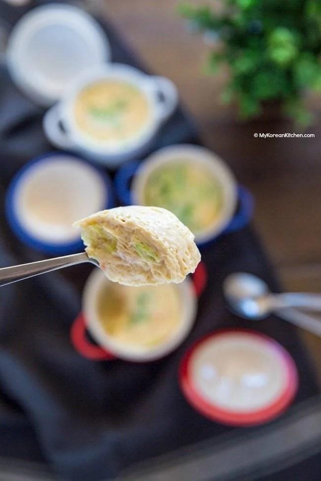 Korean Steamed Egg Recipe   MyKoreanKitchen.com