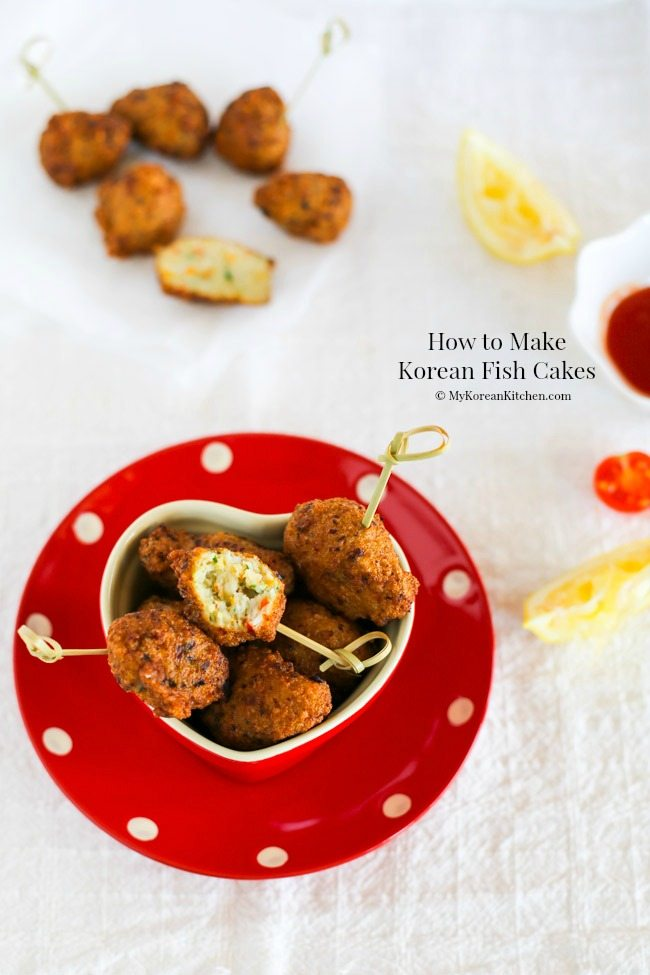 How to make Korean fish cakes (Eomuk, Odeng) from scratch | MyKoreanKitchen.com