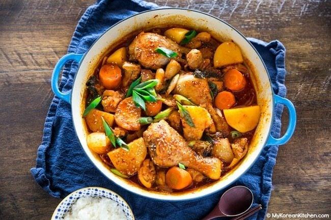 Korean Chicken and Potato Stew