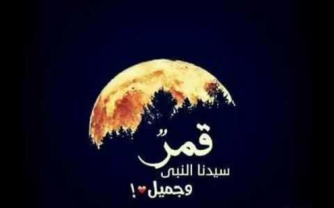 أنشودة قمر سيدنا النبي مكتوبة كاملة