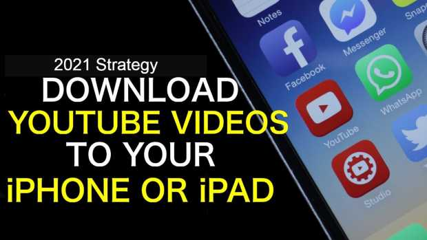 Download YouTube videos directly to iPhone