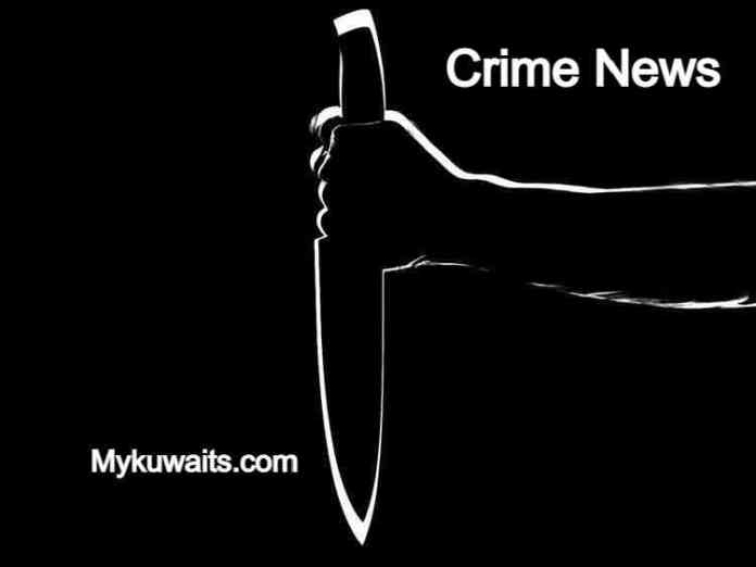 A Kuwaiti father was stabbed by two men while jogging with his daughter