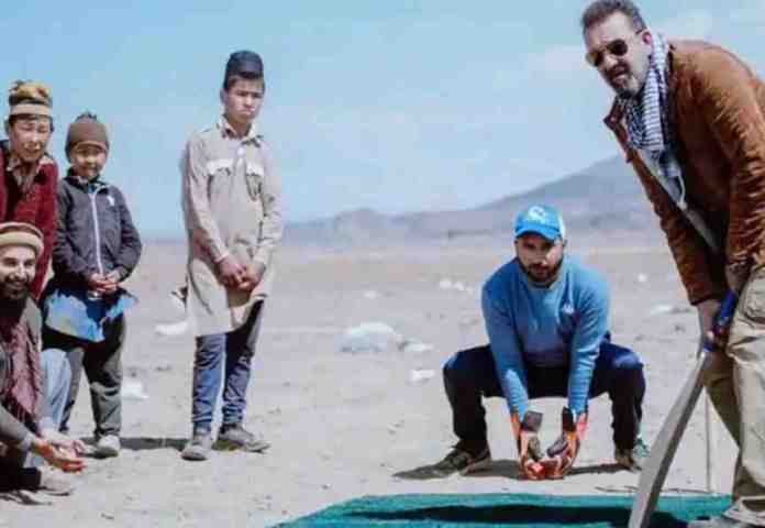 Torbaz Movie: Sanjay Dutt is innocently trying to show cricket to cricketers