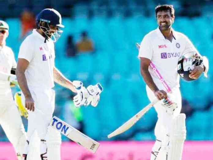 third Test between India and Australia in Sydney ended in a draw