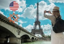 France banned unvaccinated American tourists